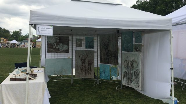 Art in the Village 22 April 2017