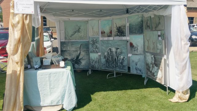 Art in the Village May 2018